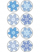 Teacher Created Resources Winter Mini Stickers, Multi Colour
