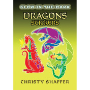 Dover 466744 Dover Publications-Glow-In-The-Dark Dragon Stickers