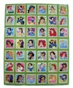 Disney Princess Stickers Collection .
