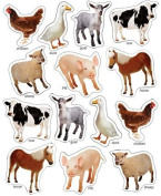 CARSON DELLOSA CD-168013 FARM ANIMALS