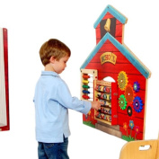 School House Wall Panel Activity Toy