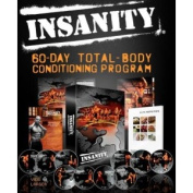 INSANITY total-body conditioning programme DVDs