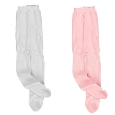 Doll Tights, 1 Pair of White Tights & 1 Pair of Pink Tights, Fits 46cm American Girl Dolls