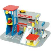 Bigjigs Toys JT106 Heritage Playset City Auto Centre