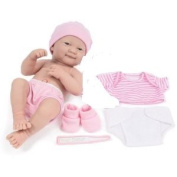 Berenguer La Newborn Nursery Doll with Clothes & Shoes, 36cm , Baby Doll