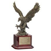 American Eagle Trophy in Mahogany Finish Wood