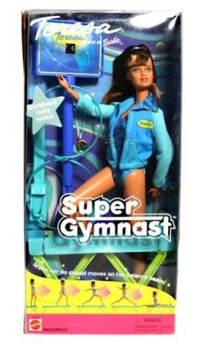 Teresa Friend of Barbie Super Gymnast 55292
