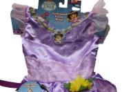 Dora the Explorer Enchanted Forest Adventures Dress Costume with Bonus Headband  .