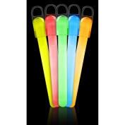 25 15cm Standard Glow Sticks Assorted Colours