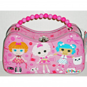 Lalaloopsy Pink Scoop Purse Tin with Beaded Handle
