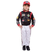 Dress Up America 507-S Child Race Car Driver Costume - Size Small