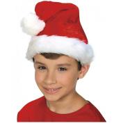 Plush Santa Hat for Children - Child Std.