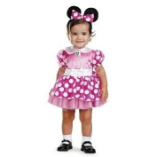Mickey Mouse Clubhouse - Pink Minnie Mouse Infant Costume - 12- .