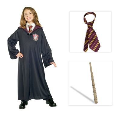 Harry Potter's Hermione Child Costume including Gryffindor ...