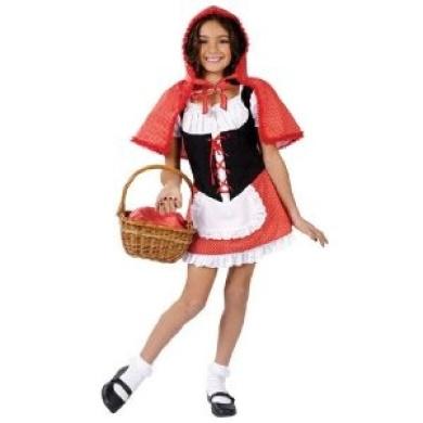 Fun World Girls Little Red Riding Hood Kids Halloween Costume