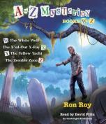 A to Z Mysteries: Books W to Z [Audio]