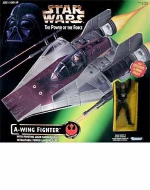 Star Wars: Power of the Force > A-Wing Fighter with Pilot Vehicle
