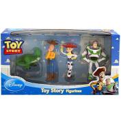 Disney Toy Story 4 Figure set Buzz, Woody, Jessy and Rex
