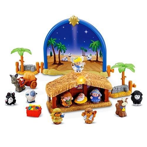Little People Christmas Story Nativity Scene Playset