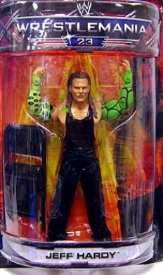 WWE Summer Slam Road to Wrestlemania 23 Exclusive Series 3 Action Figure Jeff Hardy