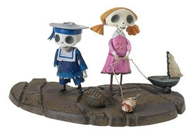 Corpse Bride Action Figure Skeleton Boy and Girl