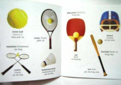 Music and Sports Vietnamese/English Children's Bilingual Picture Book