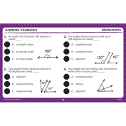 Educational Insights 2789 Hot Dots Academic Vocabulary Cards Grades 4-6