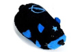 Kung Zhu Battle Hamster - Stonewall - Black with Blue Accents