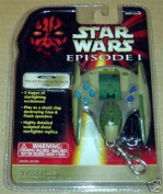 Droid Fighter Attack Tiger Handheld Star Wars KEY Chain Game