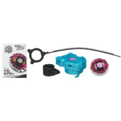 Beyblades Metal Masters Balance Battle Top #BB100 Evil Befall
