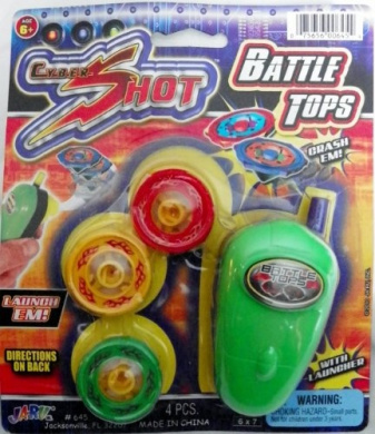 Cyber Shot Battle Tops