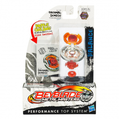 Beyblades Metal Masters Balance Battle Top #BB119 Thermal Gemios