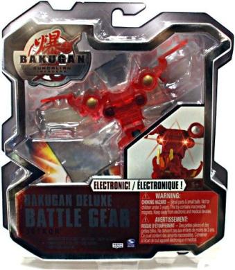 Bakugan Deluxe Electronic Battle Gear Pyrus Red JetKor