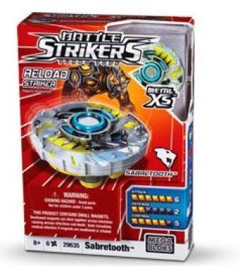 Battle Strikers Metal XS Sabretooth Striker