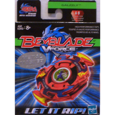 Beyblade American Hasbro Vforce Galzzly A-9 Attack Type Metal Master Series