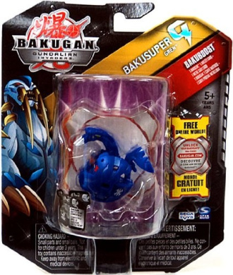 Bakugan Bakusuper G Single Figure Aquos Blue Gren 1100 G