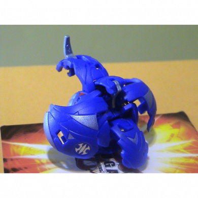 Bakugan Super Assault Blue Aquos Breezak 810G Flywheel & Dharak 780G (Sealed w/DNA)