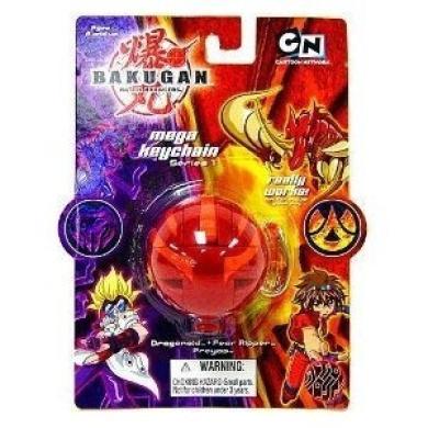 Bakugan Mega Keychain Series 1 Red Dragonoid