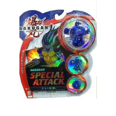 BAKUGAN B2 VESTROIA BAKUNEON SPECIAL ATTACK NEW LOOSE AQUOS BLUE ATTRIBUTE CHANGE ELICO 680G