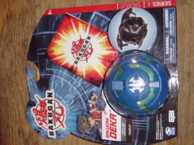 Bakugan Battle Brawlers Deka Series 1 Saurus Blue