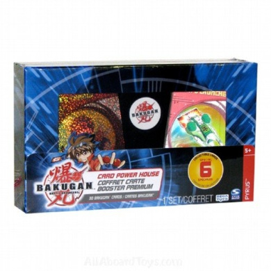 Card Power House - Bakugan Battle Brawlers -Coffret Carte - Booster Premium (Designs & Colours May Vary)