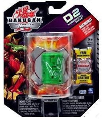 Bakugan D2 Single Figure Zephyroz Green BakudoubleStrike Dartaak