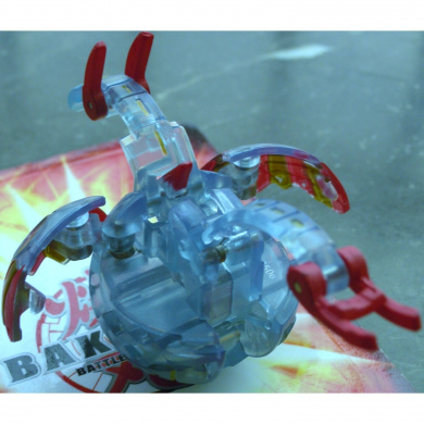 Bakugan New Vestroia Bakuneon LOOSE Single Figure TRANSLUCENT (HAOS) Altair 650G