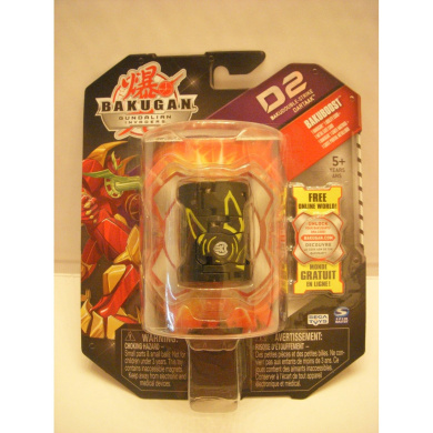 "Bakugan Bakudouble-Strike Black ""Dartaak"" - Factory Sealed Package [Toy]"