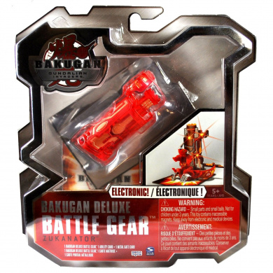 Bakugan Deluxe Electronic Battle Gear Pyrus Red Zukanator