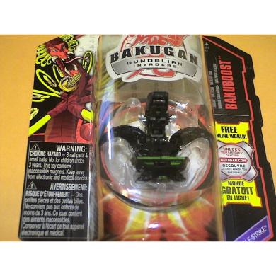 Bakugan Bakuboost Gundalian Invaders Bakudouble-Strike Darkus Snapzoid Figure
