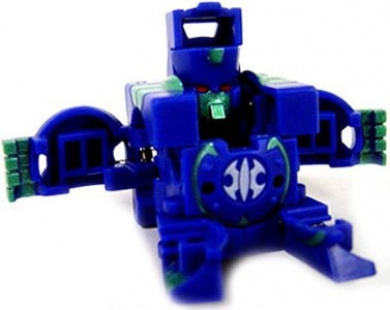 Bakugan B2 Bigger Brawlers LOOSE Single Figure Special Attack Aquos (Blue) TRAP