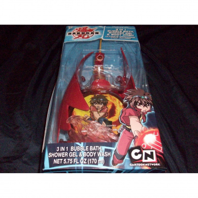 Bakugan Cartoon Network Ultimate Dragonoid 7.6cm 1 Bath Caddy