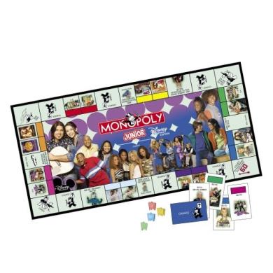 Monopoly Junior Disney Channel Edition