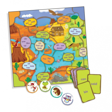 Educational Insights 3400 Reading Roundup Game